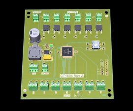 LED ve Röle Kontrollü Akım Korumalı I/O Kartı